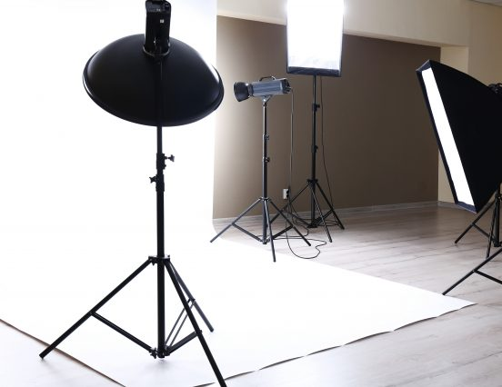 Good lighting setup for film, video and photography